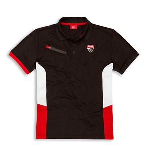 Ducati Herren Polo-Shirt DC Power schwarz 98769904