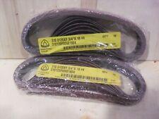 Twenty Klingspor 34 X 18 X 120 Grit Belts 310120f00601804 Made In Germany
