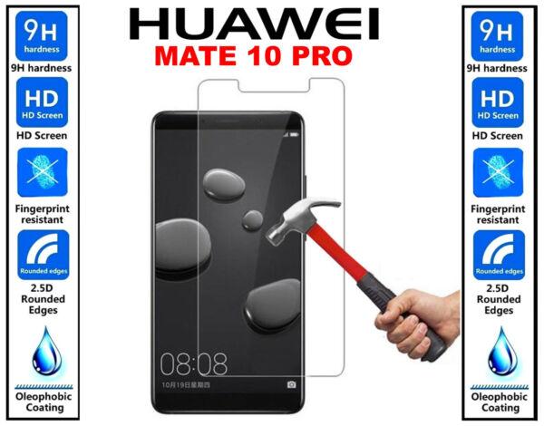 3x Authentique 100% Ultra Hd Verre Trempé Protecteur D'écran Pour Huawei Mate 10 Pro Soyez Astucieux Dans Les Questions D'Argent