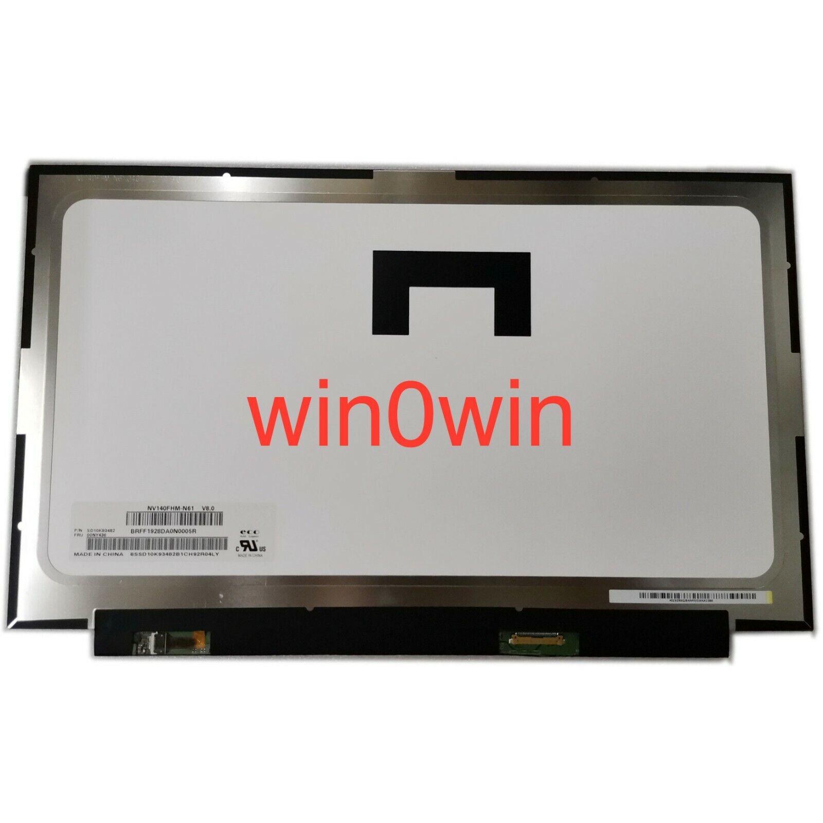 B140HAN04.0 fit N140HCA-EAC NV140FHM-N62 LCD LED Screen 1920*1080 30 PIN NEW