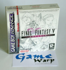 Final-Fantasy-V-5-Advance-GBA-Game-Boy-Advance-ITA-NUOVO-NEW-SEALED