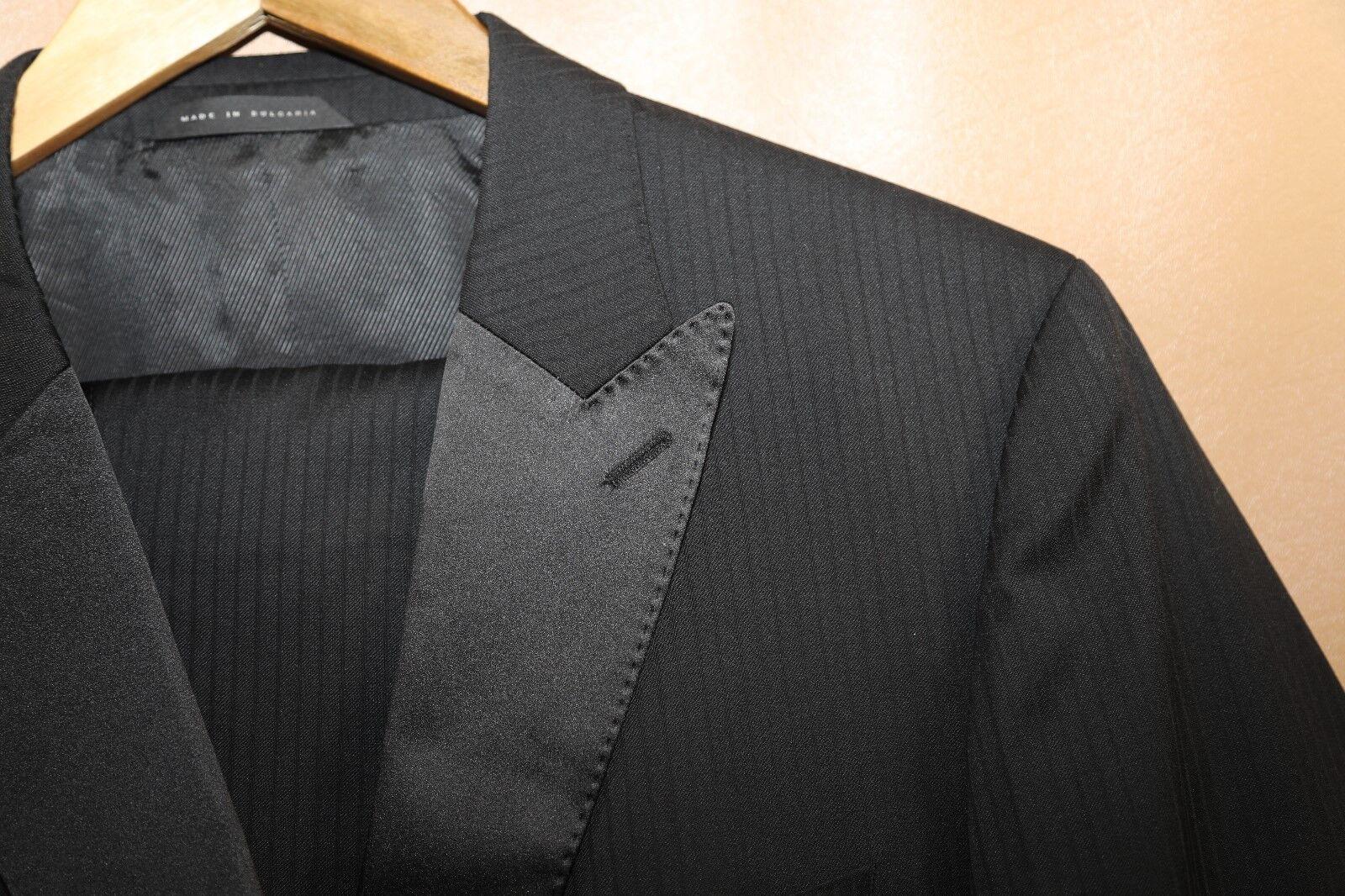 97 Hugo Boss The Actor/Step Two Button Wool & Silk Tuxedo Größe 40 R
