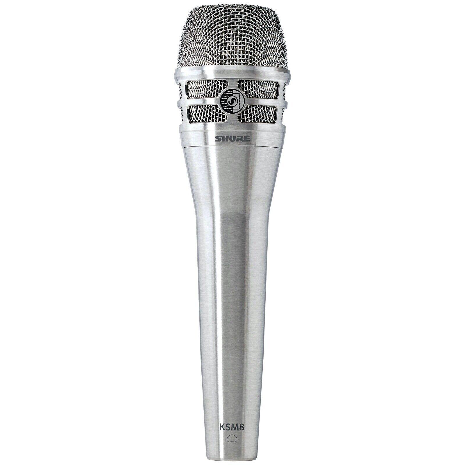 Shure KSM 8 Dualdyne Gesangsmikrofon Nickel