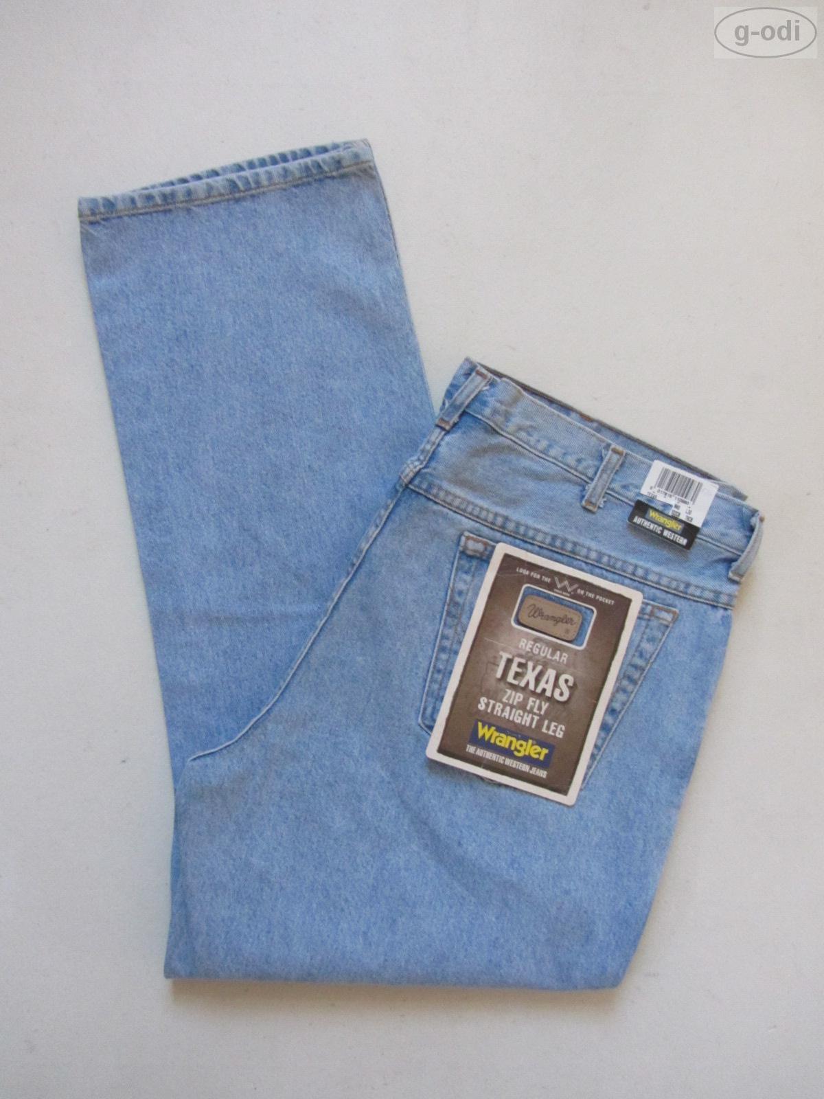 Wrangler TEXAS Jeans Hose W 40  L 30 NEU NEU NEU   robuster stonewashed Denim RAR 953d92