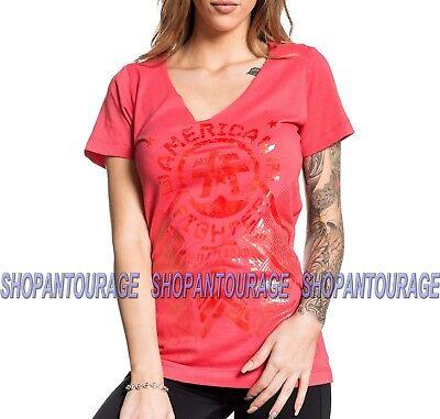 SINFUL BY AFFLICTION Sinful Damen T-Shirt Rosita Orange