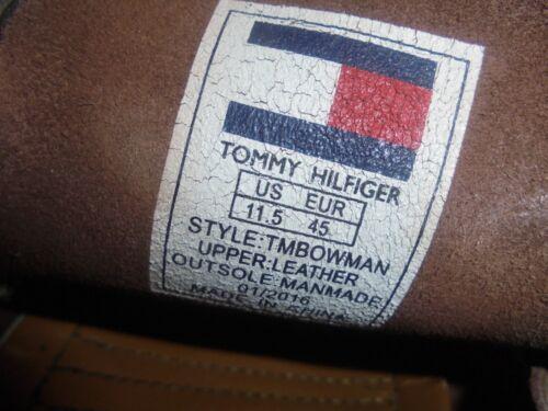 Hilfiger Us 11 in Tommy Misura marrone pelle lacci 45 Eu 5 con Mocassino 11 da uomo Uk 6HHqxwPd