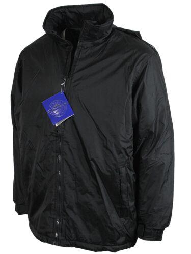 NUOVA linea uomo giacca con cappuccio casual wildriver in cappotto nero S A 2XL PREZZO D/'AFFARE!