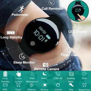 Bluetooth-Smartwatch-Schrittzaehler-Armbanduhr-Sport-Fitness-Tracker-Wasserdicht