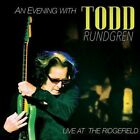 An Evening with Todd Rundgren: Live at the Ridgefield [Digipak] * by Todd Rundgren (CD, Aug-2016, 2 Discs, Purple Pyramid)