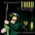 An Evening with Todd Rundgren: Live at the Ridgefield [Digipak] by Todd Rundgren (CD, Aug-2016, 2 Discs, Purple Pyramid)