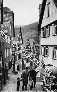 Schiltach - Schwarzwald - Fachwerk - Großformat    um 1960  W 33-3