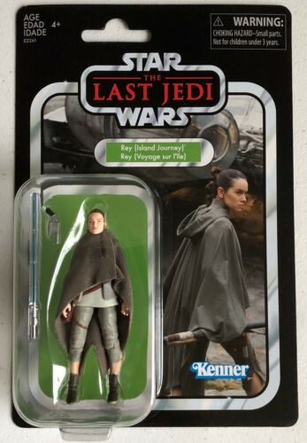 Star Wars Vintage Collection Rey (Island Journey) VC 122 Exclusive Figure