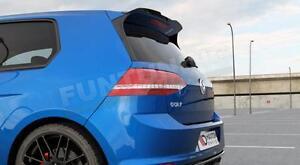 GTI-R-techo-aleron-trasero-golf-7-rearspoiler-VW-TCR-Heck-alas-Club-Sport-GTD