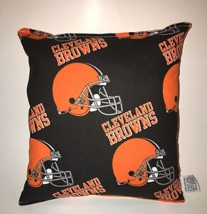 Browns-Pillow-NFL-Pillow-Cleveland-Browns-Pillow-Football-Pillow-HANDMADE-IN-USA