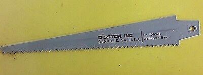 Disston 101-WS WB Twist-N-Lock  Wallboard Saw Blade Sheetrock 101WB  Vintage