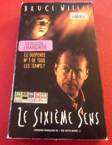VHS-Movie-Le-Sixieme-Sens-Version-Francaise