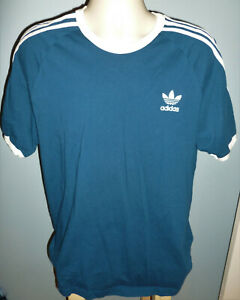 Adidas-Three-Stripped-Trefoil-Ringer-T-Shirt-Extra-Large-XL