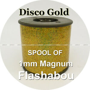 Magnum Gold And Silver Holographic Tinsel Flashabou
