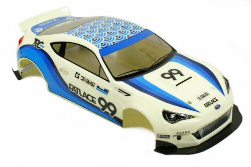 HPI Racing RS4 Sport 3 1//10 Karosserie Subaru BRZ Fatlace 200mm 114644 H114644