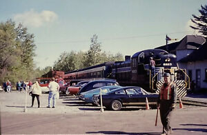 Vintage-Photo-Slide-Adirondack-Train-October-1994-New-York