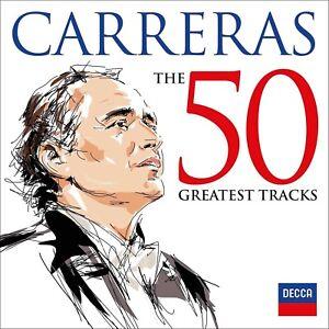 JOSE-CARRERAS-THE-50-GREATEST-TRACKS-2-CD-NEW