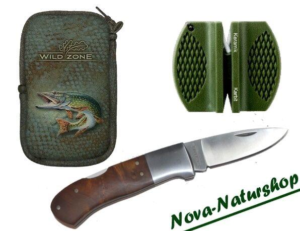 Anglermesser, Taschenmesser, Taschenmesser, Taschenmesser, Gürteltasche, 2-fach Schärfer, Angeln c7b972