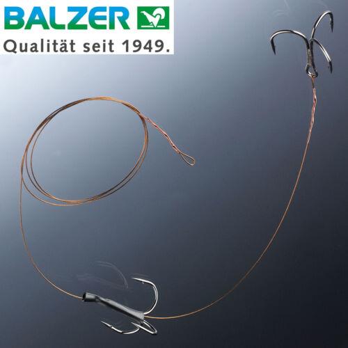 Balzer Matzes Doppel Drilling System 70cm 9kg Köderfischsystem Hechtvorfach