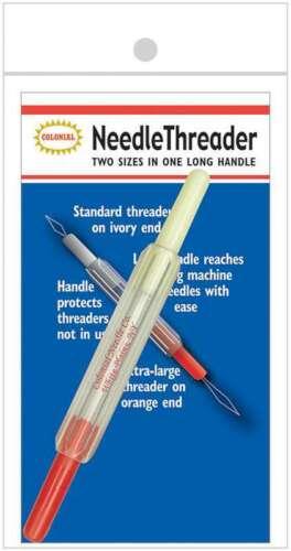 2-In-1 Needle Threader  091955191011