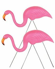 NEW 2-Pack Rhode Island Novelty Pink Flamingo Yard Ornament - FREE SHIPPING