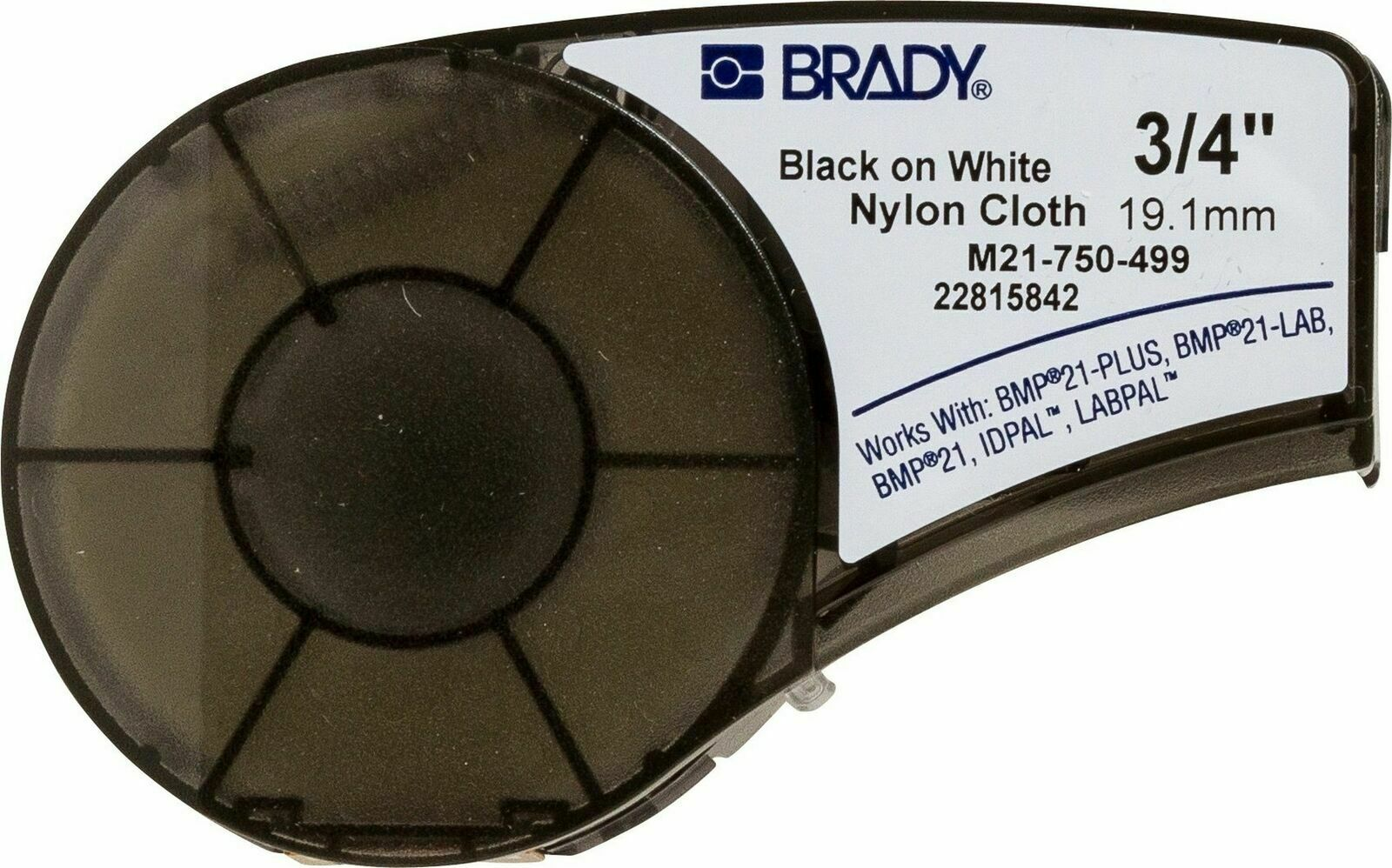 Brady High Adhesion Cloth Label Tape (M21-750-499) - Bl