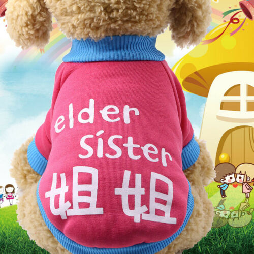 Dog Clothes for Small Dogs XS Cartoon Dog Jacket Chihuahua Small Pet Cat Clothes