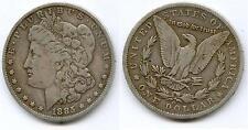 ETATS UNIS @ USA @ SUPERBE MORGAN DOLLAR ARGENT DE 1885 O @ NOUVELLE ORLEANS TOP