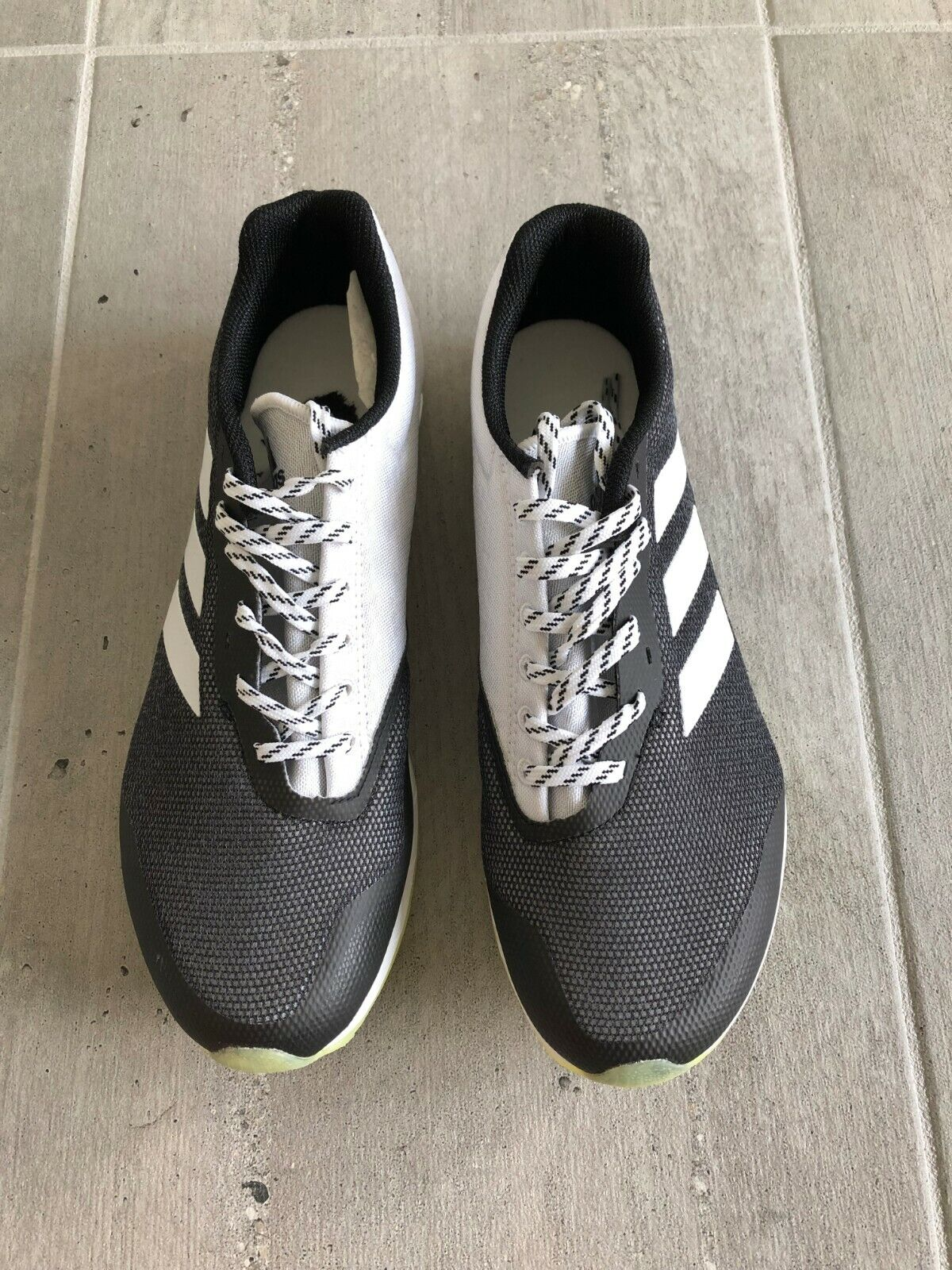 ADIDAS Performance Women's XCS W Cross-Country running shoes black and white 8