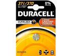Duracell Batterie Silver Oxide Knopfzelle 371 370 1.5v