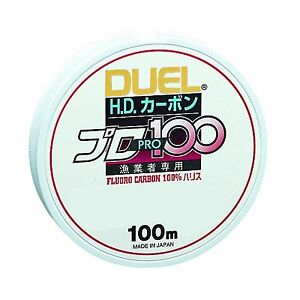 Yo-Zuri-DUEL-HD-Carbon-100-Fluorocarbon-Leader-line-BRAND-NEW-MADE-IN-JAPAN