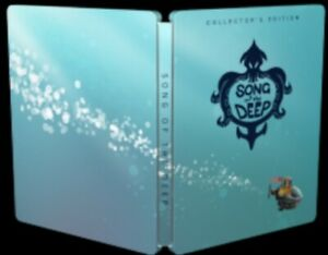 Song-of-the-Deep-Collectors-Edition-STEELBOOK-ONLY-NO-GAME-Included