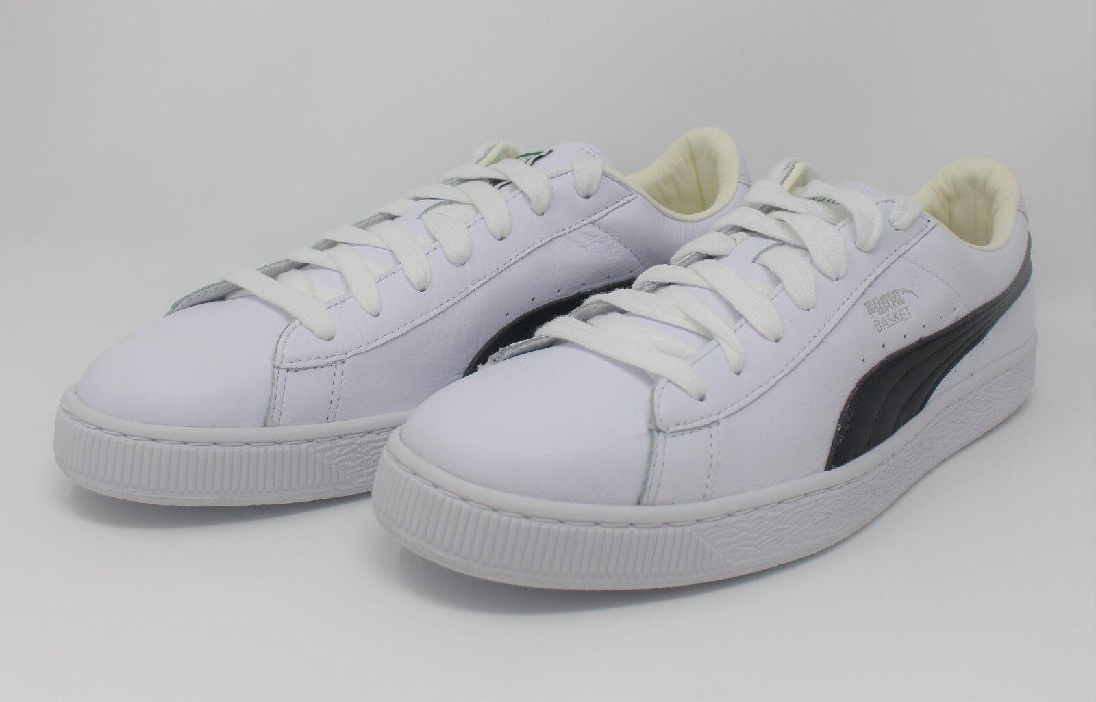 Puma Basket Classic LFS White/Black Model#: 354367-22, Comfortable Seasonal price cuts, discount benefits
