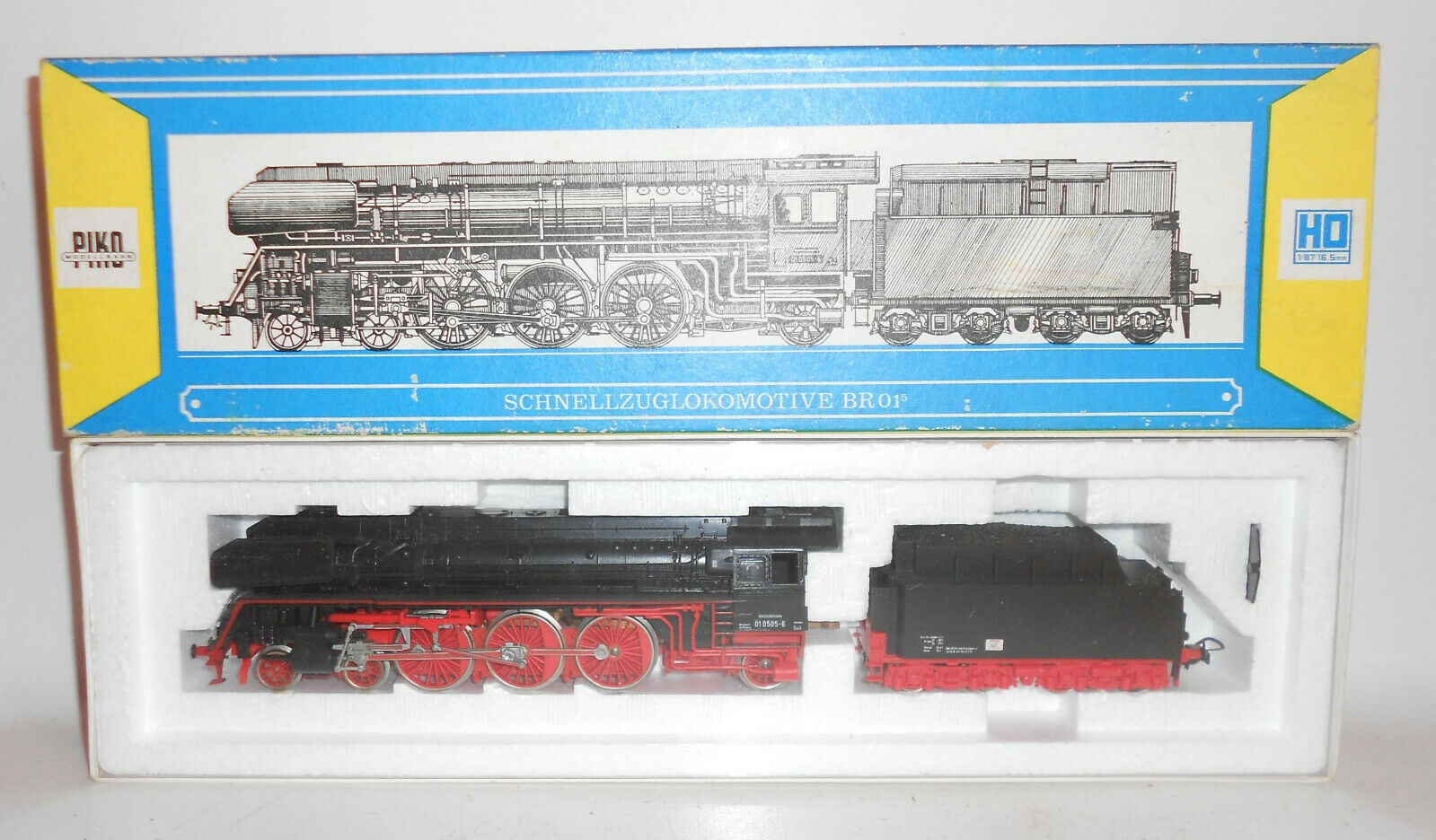 Piko Schnellzuglokomotive BR 01⁵ mit OVP Dampflok Spur H0 5 6320   (M2