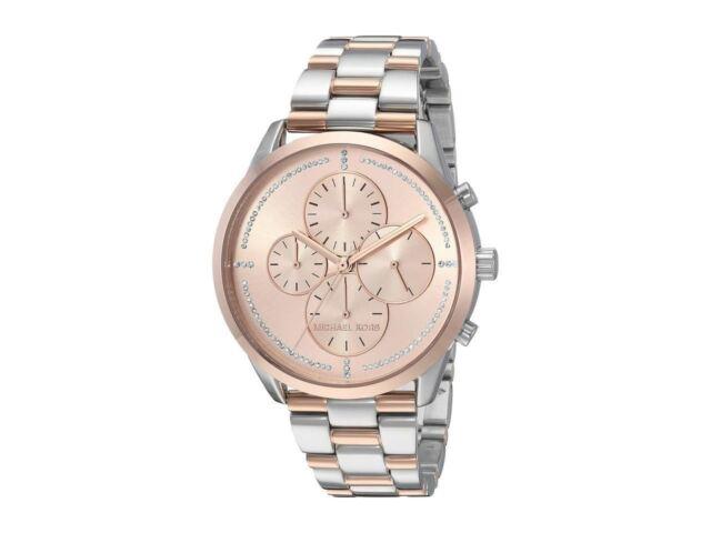 Michael Kors Women's Slater Two-Tone Stainless Steel Bracelet Watch 40mm MK6520