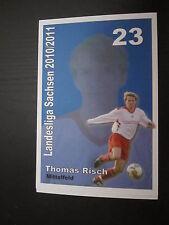 19347 Thomas Risch SSV Markranstädt unsignierte Autogrammkarte geringe Auflage