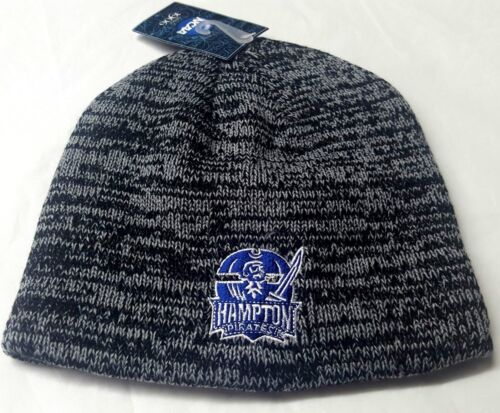 NCAAL Hampton University Pirates Cuffless Beanie Skull Cap NEW
