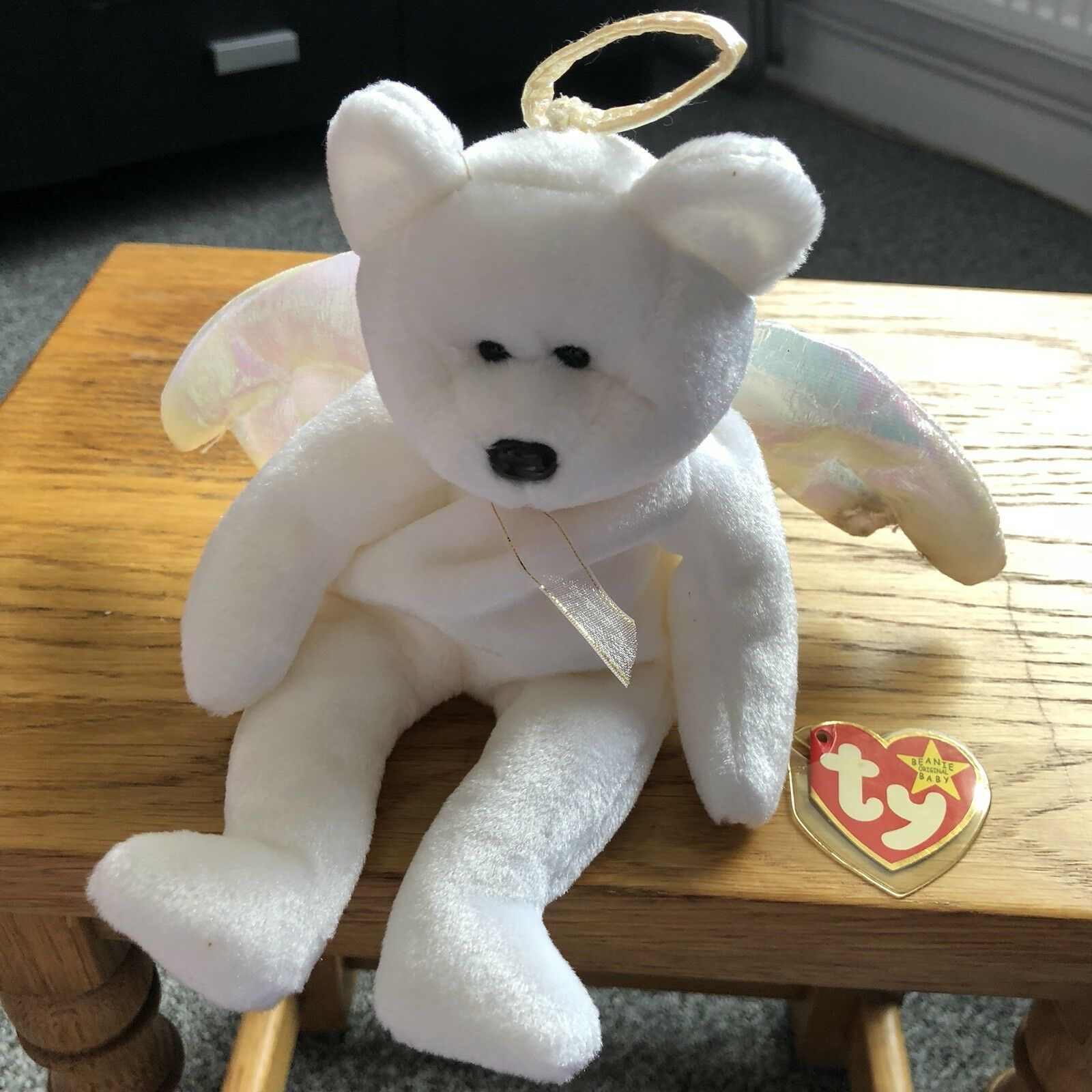 Halo the Angel Bear - Ty Beanie Baby