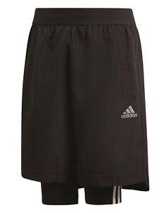 Adidas-Performance-Enfants-Sport-Football-Short-Football-2in1-Short-Noir