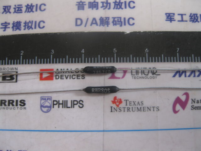 5X RWR80S33R2FR 33R2 1/% 2W Wirewound Resistors 33.2 ohms