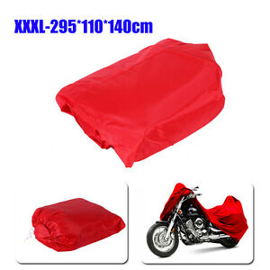 L-Waterproof-Motorcycle-Cover-Red-F-Ducati-Monster-600-750-900-1000-1100-EVO-620