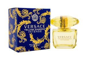 Versace Yellow Diamond Intense by Versace 3.0 oz EDP Perfume for Women NIB