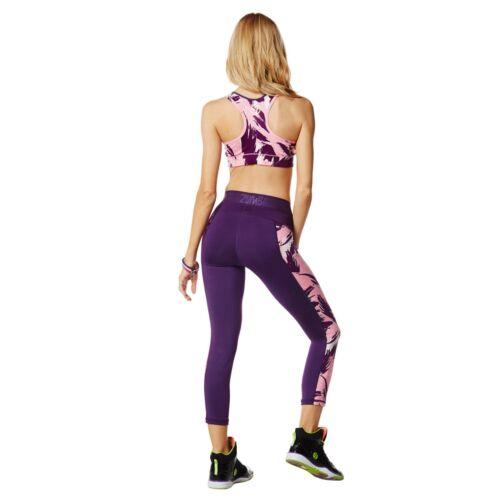 Capri Leggings crossfit ciclismo Zumba yoga Fitness Pantaloni allenamento Dance corsa qOpzwE
