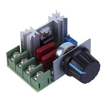 2000W AC 220V SCR Spannungsregler Drehzahlregler Dimmer Thermostat UF