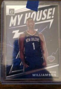 2019-20 Donruss Optic My House Zion Williamson #15 Rookie RC Pelicans Base 📈