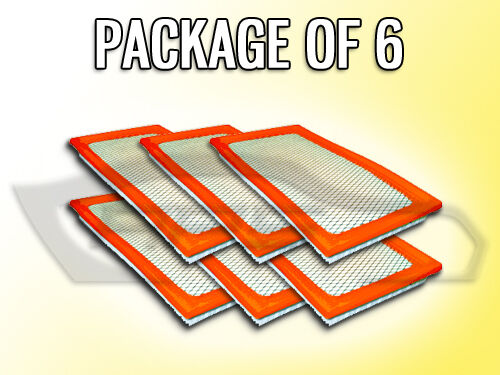 AIR FILTER AF5635 FOR 2007 2008 DODGE CALIBER JEEP COMPASS PATRIOT PACKAGE OF 6